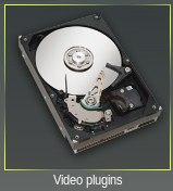 Acceso a plugins de vídeo