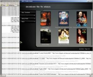 El listado de películas