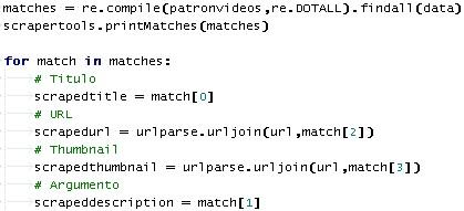 Asignando valores a las variables