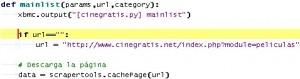 URL parametrizable