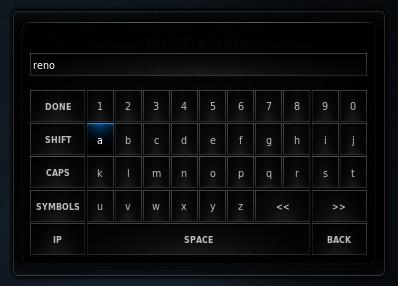 Buscador en XBMC
