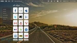 Interfaz de usuario de la tableta