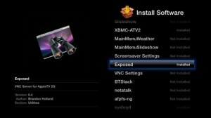 Exposed para Apple TV 2G