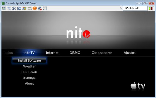 Accediendo a tu Apple TV 2G por VNC