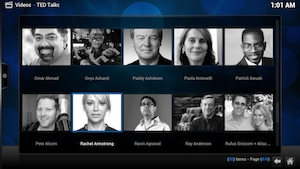 Add-on para XBMC: Carpetas en TED Talks