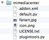 Estructura de un add-on para XBMC con plugintools