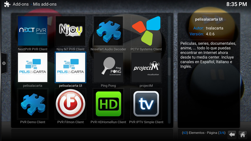 how to add an addon to the main menu kodi